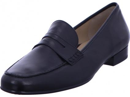 Ara Klassische Slipper schwarz Slipper Businessschuh Damen S in Größe 39