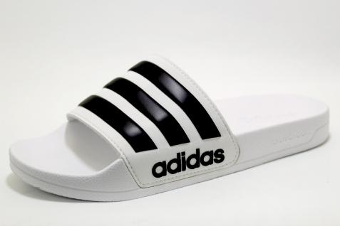 Adidas Pantoletten weiss in Größe 5