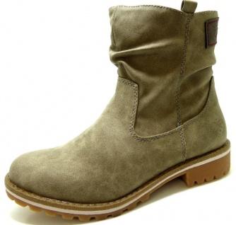 Indigo Schuhe Stiefeletten grau in Größe 37