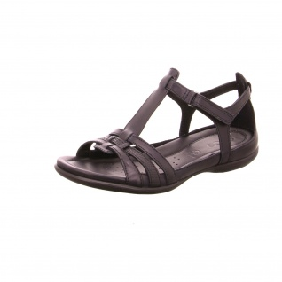 Ecco Komfort Sandalen schwarz Flash