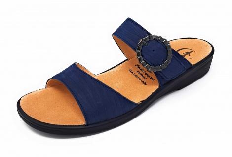 Ganter Pantoletten blau in Größe 38.5