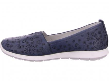 Remonte Sportliche Slipper blau in Größe 38