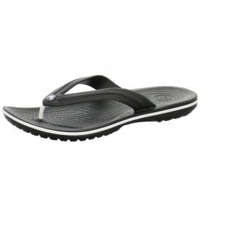 Crocs Pantoletten schwarz Crocband Flip
