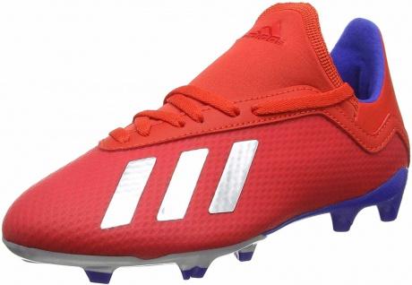 Adidas Jungen Sportschuhe rot in Größe 4½