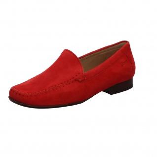 Sioux Klassische Slipper rot in Größe 38.5