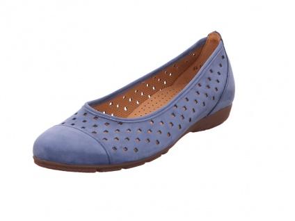 Gabor Sportliche Slipper blau in Größe 39
