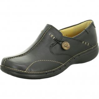 Clarks Komfort Slipper schwarz NV in Größe 38