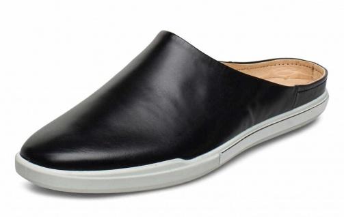 Ecco Komfort Slipper schwarz in Größe 38