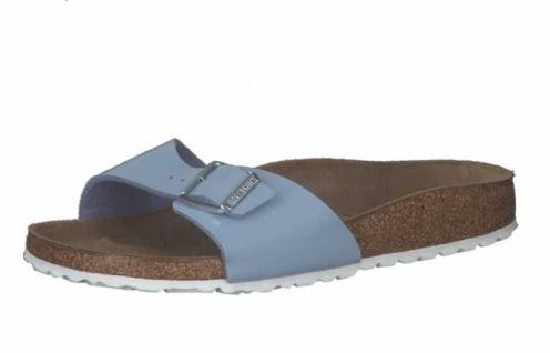 Birkenstock Pantoletten blau Madrid BS[Sandals] in Größe 38