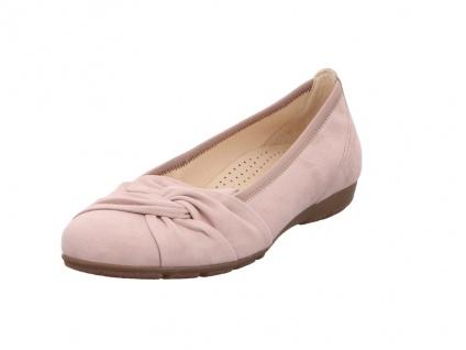 Gabor Ballerinas lila/pink in Größe 40.5