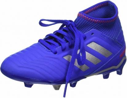 Adidas Jungen Sportschuhe blau PREDATOR FG J in Größe 3½