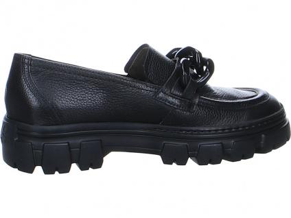 Paul Green Klassische Slipper schwarz in Größe 38.5