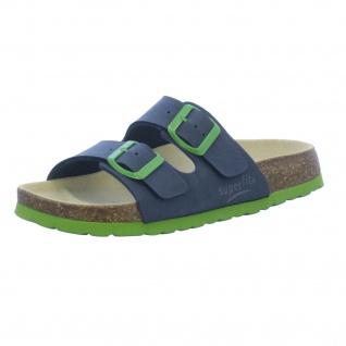 Superfit Jungen Sandalen blau in Größe 35