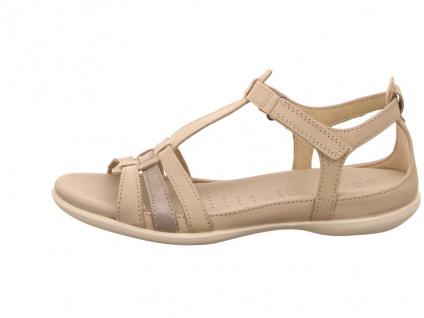 Ecco Klassische Sandalen beige FLASH