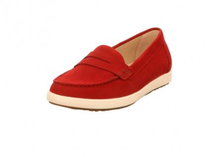 Gabor Klassische Slipper rot in Größe 43