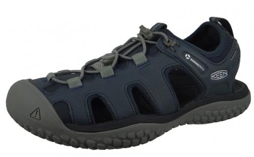 Keen Sportliche Slipper blau in Größe 44