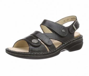 Finn Comfort Komfort Sandalen schwarz