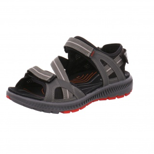 Ecco Sportliche Sandalen grau