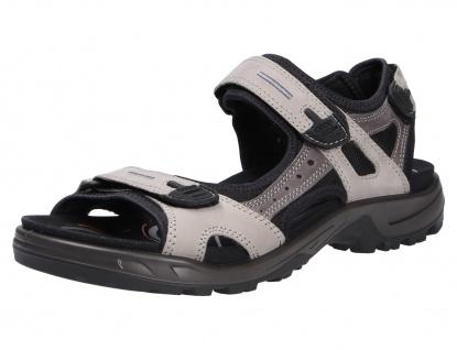 Ecco Komfort Sandalen grau