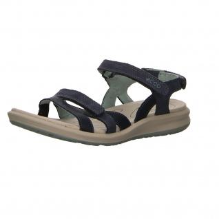Ecco Komfort Sandalen blau