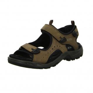 Ecco Sportliche Sandalen braun