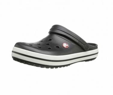 Crocs Pantoletten schwarz