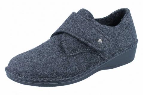 Finn Comfort Hausschuhe grau