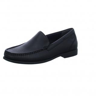 Sioux Klassische Slipper schwarz