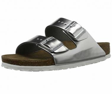 Birkenstock Pantoletten metallic Arizona BS[Slipper]