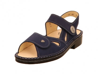 Finn Comfort Komfort Sandalen blau