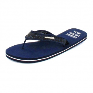 Tom Tailor Klassische Slipper blau