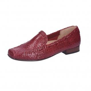 Sioux Klassische Slipper rot