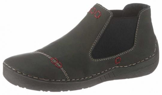 Rieker Boots navy Kunstleder 785F8 14 Gr. 36 43 Kaufen