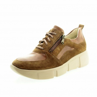 Lloyd Komfort Schnürer braun Damen Sneaker Lo