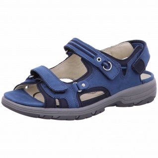 Waldläufer Outdoor Sandalen blau