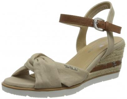 Tom Tailor Klassische Sandalen beige