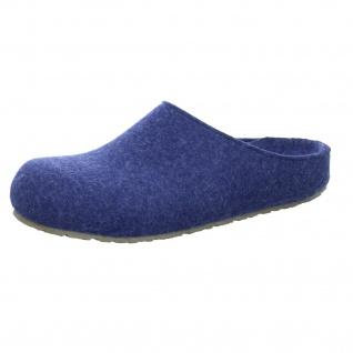 Haflinger Hausschuhe blau NV