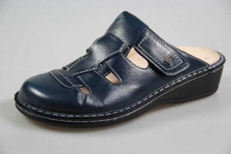 Finn Comfort Pantoletten blau Java