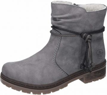 Rieker N4020 Damen Sneaker grau Kaufen bei Schuh