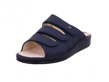 Finn Comfort Pantoletten blau Korfu