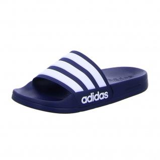 Adidas Sportliche Slipper blau Adilette