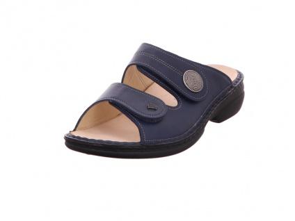 Finn Comfort Pantoletten blau Sansibar