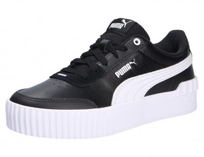 Puma Freizeit Schnürer schwarz Damen Sneaker