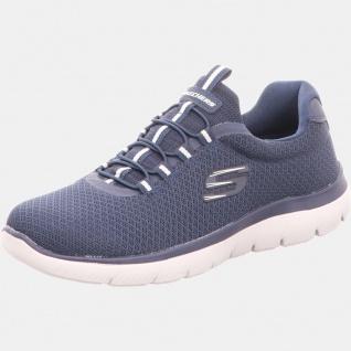 Skechers Komfort Slipper blau Summits