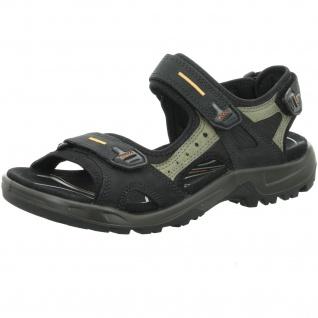 Ecco Sportliche Sandalen schwarz
