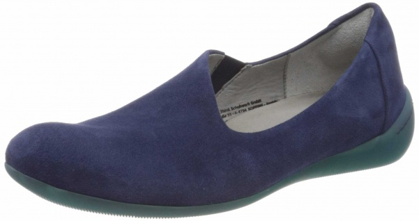 Think Klassische Slipper blau