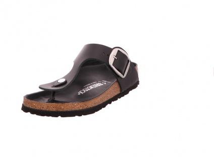 Birkenstock Komfort Sandalen schwarz Gizeh Big Buckle[Zehens