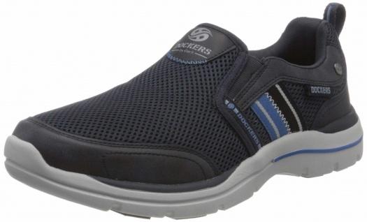 Dockers Sportliche Slipper blau