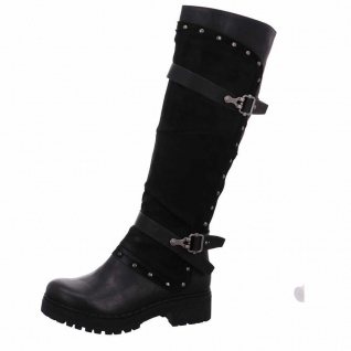 Laufsteg Stiefel schwarz