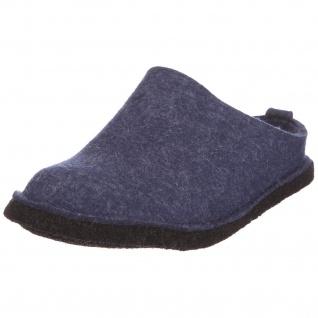 Haflinger Hausschuhe blau